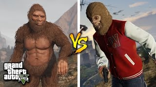 GTA 5 | DAS GRÖßTE EASTER EGG IN GTA 5 ! | BIGFOOT vs THE BEAST ! | IDzock