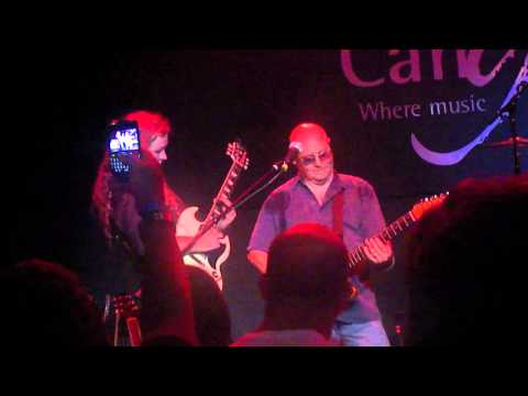 Ronnie Montrose and Michael Lee Firkins Shredding Slide Playing Canyon 9/8/2011