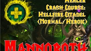 Healer Crash Course: Mannoroth Hellfire Citadel (Normal/Heroic)!