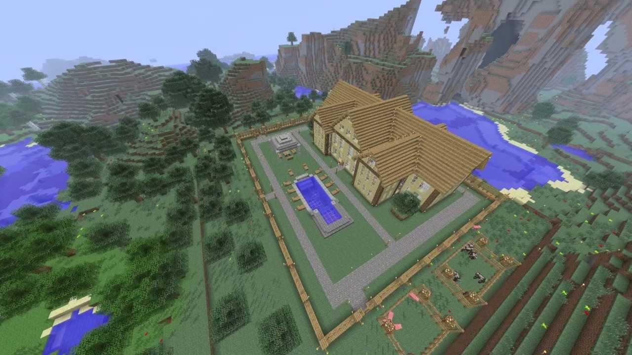 Como hacer una buena casa en minecraft wiziradcraft for Como hacer una casa clasica en minecraft