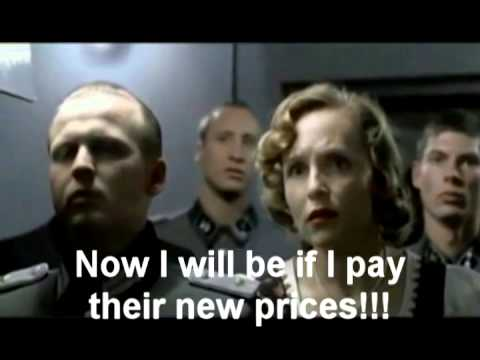 Hitler Reacts to Gibson Guitar 29% Price increase for 2015