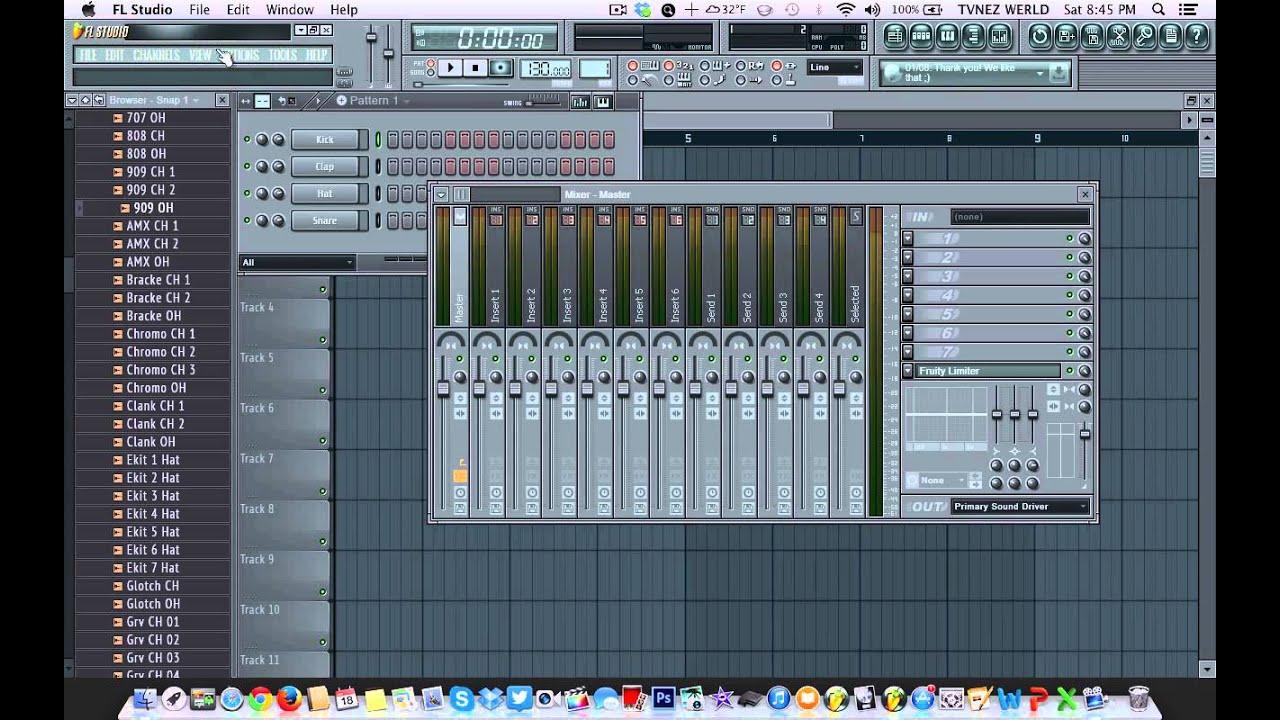 fl studio 11 crack  for mac