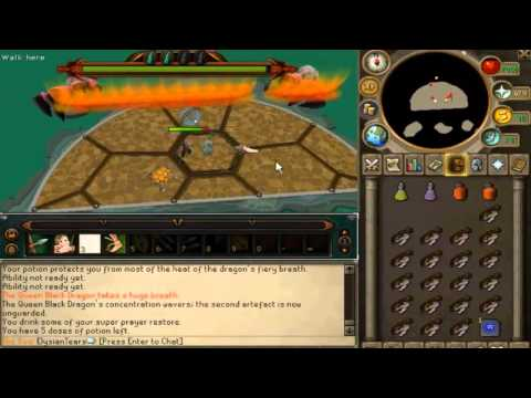 Runescape QBD guide eoc with range (Most efficient)