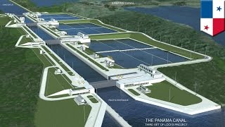 Panama canal expansion: how it works