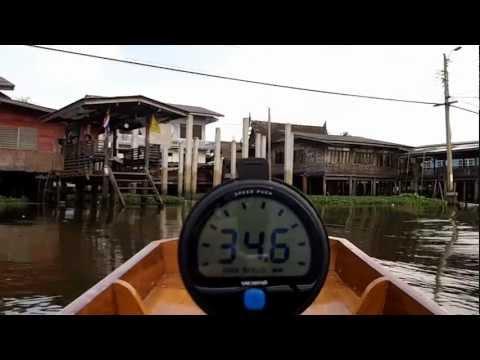 34mph Longtail Boat Ride Near Bangkok Thailand