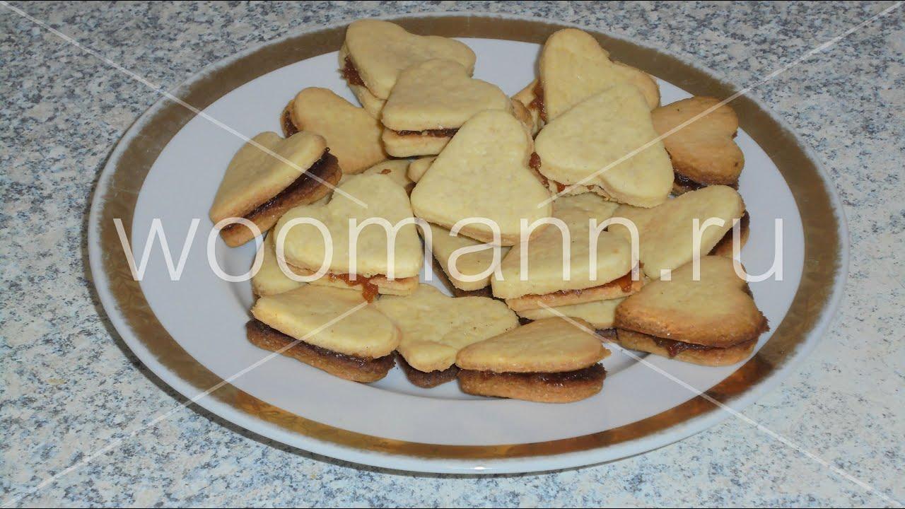 Песочные печенье в духовке рецепт пошагово в