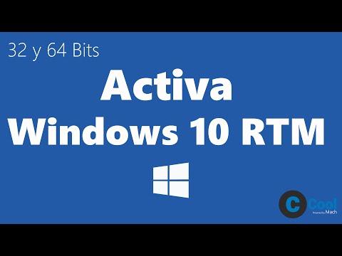 Como Activar Windows 10 PRO Y HOME sin Programas   TUTORIAL   CoolMach