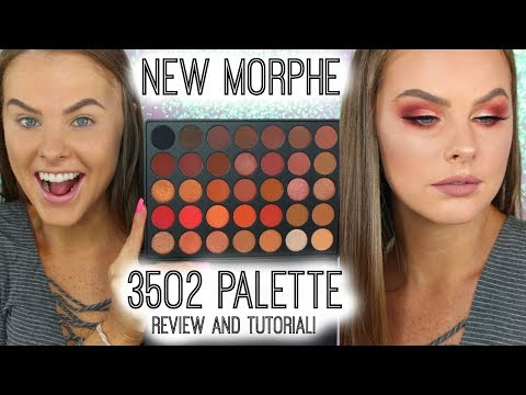 NEW** Morphe 35O2 Palette Review AND Tutorial!