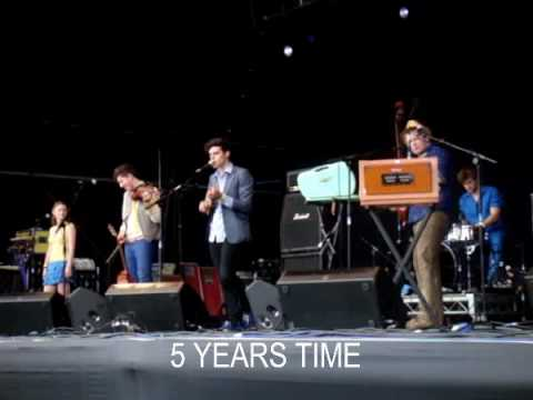 Noah And The Whale : 5 Years Time & Mary : Field Day 2008