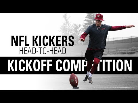 NFL Placekickers Go Head-to-Head   Kickoff Competition   Kohl's Kicking Camps