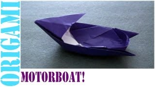 Motorboat: Daily Origami - 471 [tcgames Hd]