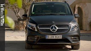 2019 Mercedes-Benz V-Class 300 d 4MATIC | Graphite Grey Metallic | Exterior, Interior
