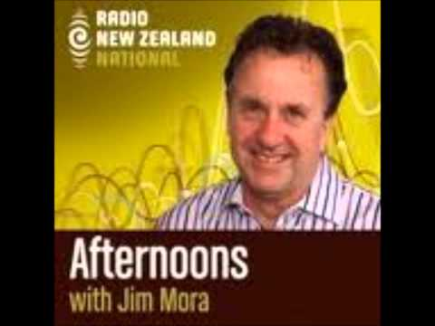 Interview Radio New Zealand - Jim Mora Interviews Oli Hille - Copyright Radio NZ