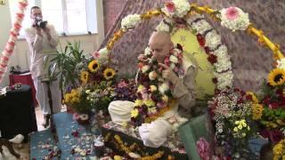 2011.10.22. Vyasa Puja part 5 Guru Puja HG Sankarshan Das Adhikari - Kaunas, Lithuania