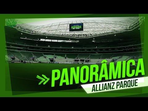 Novo estádio do Palmeiras: panorâmica do Allianz Parque em 30 segundos