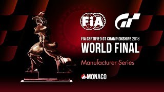 [Español] FIA GT Championships 2018 | Manufacturers Series | Final mundial | Final
