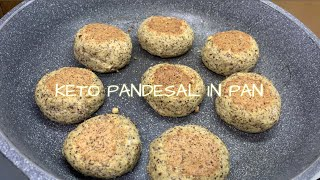 NO BAKE KETO PANDESAL IN PAN only .75g. Net carb | KETO AND LOW CARB DIET