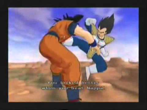 Dragon Ball Z Budokai Tenkaichi 2 Version Latino (Gameplay Goku vs Vegeta)
