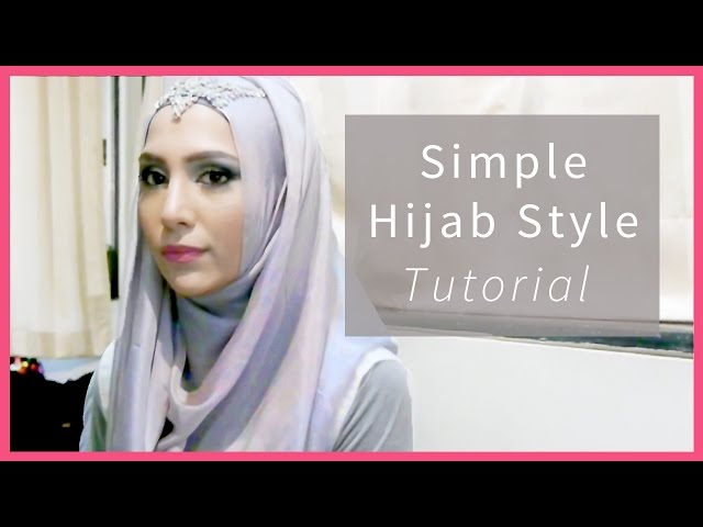 EASY HIJAB TUTORIAL IN 3 STEPS! FOR SCHOOL, WORK, FORMAL...