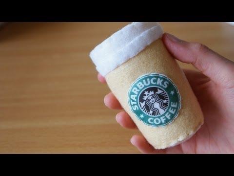 How to Make a Cute Starbucks Coffee Plushie