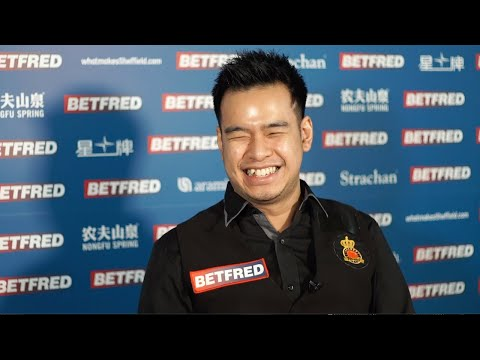 All Smiles For Noppon After Qualifying For Second Time | 2020 Betfred World Championship Qualifiers