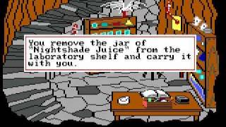 Let's Play King's Quest 3 - part 4 - Magic spells