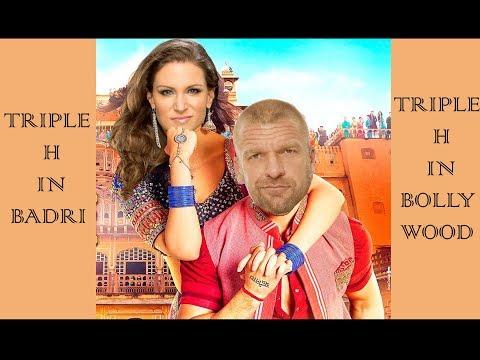 Triple H in Badri Ki Dulhania   trailer spoof   varun dhawan   alia bhatt   stephanie mcmahon