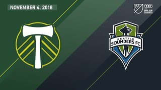 HIGHLIGHTS: Portland Timbers vs Seattle Sounders FC | November 4, 2018