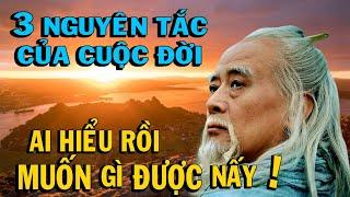 3 Nguyên Tắc của cuộc đời, ai hiểu rồi MUỐN GÌ ĐƯỢC NẤY- Thiền Đạo