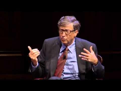 William H. Gates III COL '77, LLD '07 Q&A | The Harvard Campaign Launch
