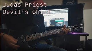 Judas Priest - Devil39s Child guitar cover w solo