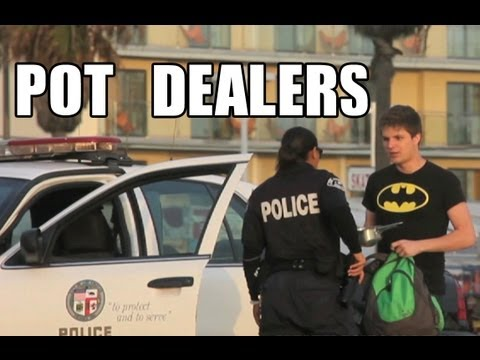Public Prank - Pot Dealers