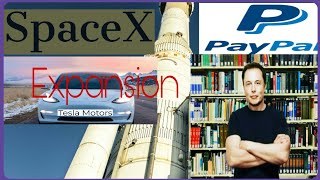 facts about Elon Musk and SpaceX, tesla motors, paypal : expansion technology idea