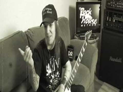 Alexi Laiho of Children of Bodom Behind the Scenes at Rock House