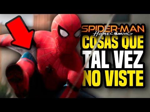 SPIDER-MAN: HOMECOMING Trailer - Cosas Que Tal Vez No Viste