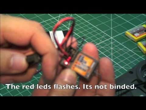 RC Bind the Turnigy 9X V2 tx with the HK-GT-2 3Ch rx