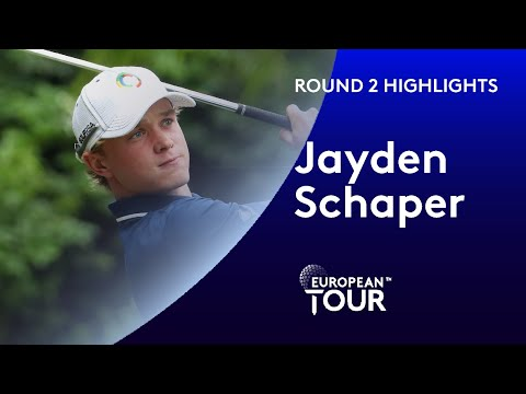 18-year-old amateur Jayden Schaper shoots 67 | Round 2 | South African Open