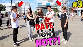 DATE or NOT ? 🌹 - KIDS EDITION 👶🏼 | WEN WÜRDEST DU DATEN ? 🤔🔥