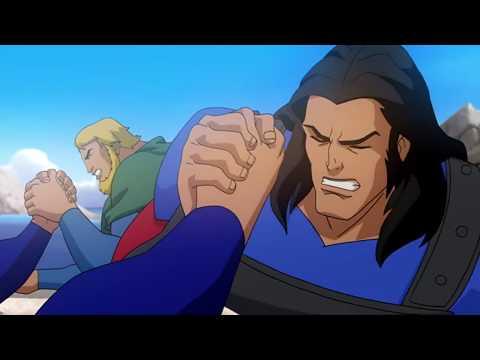 Супермен против Самсона и Атласа