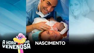 Nasce filha de Ticiane Pinheiro e César Tralli