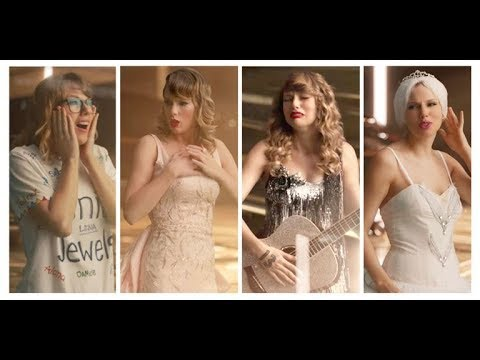 Every Old Taylor Swift in Look what you make me do  Music Video #1