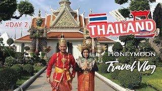 HONEYMOON KOK PAKE BAJU ADAT ??? FULL DAY BANGKOK - PATTAYA, THAILAND | TRAVEL VLOG - DAY 2