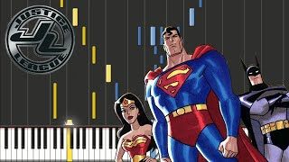 Justice League Unlimited - Opening Theme | Piano Tutorial