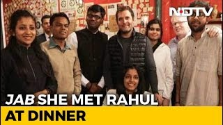 20-Year-Old Delhi Student Shares What Rahul Gandhi Told Her Over Dinner