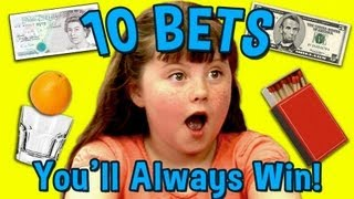 Kids React to 10 Bets You Will Always Win