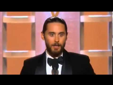Jared Leto Wins Golden Globe Awards 2014 | HD