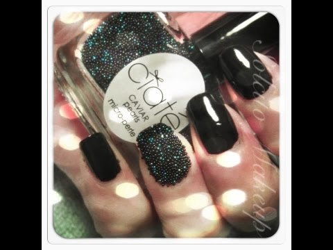 How to: Ciaté Caviar Manicure ♥