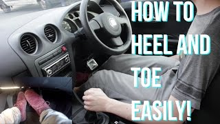 How to Heel and Toe Rev Match - Driving a Manual Car Tips and Tricks!