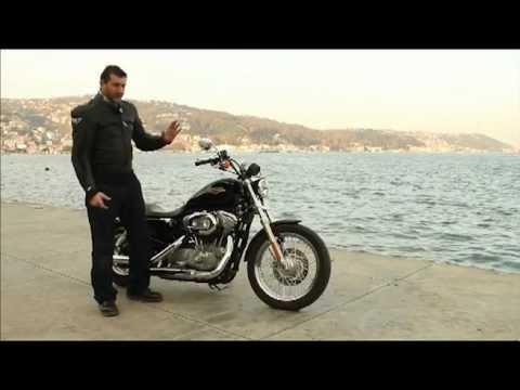 Altın Elbiseli Adam: Harley Davidson 883 Sportster