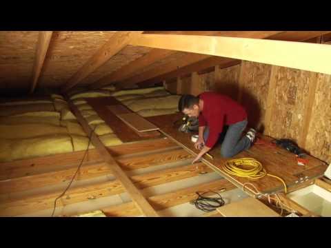 Louisville Ladder Elite Attic Ladder Installation